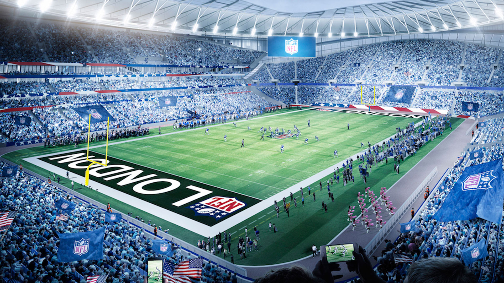 SCX's retractable pitch in NFL mode becomes a reality this weekend
