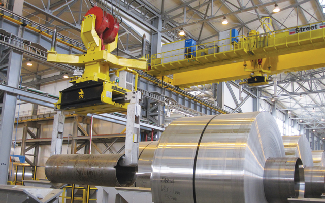 Fully automated aluminium rolling plant in Oman