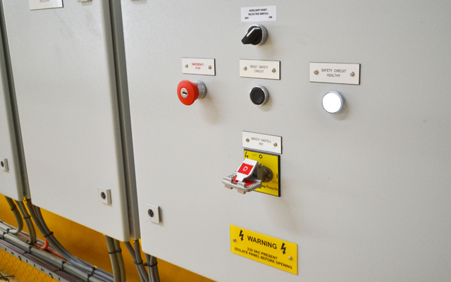 Energy from Waste control cabinets are remotely located to avoid contamination from the waste