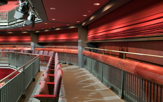 Seating in the Sage theatre